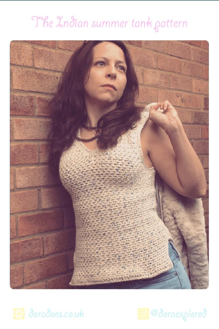 crochet cotton vest top pattern ideal beginners easy quick summer