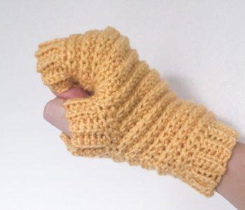 fingerless cloves crochet pattern