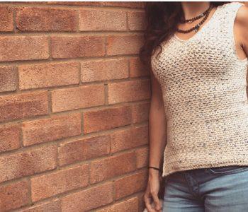 Crochet cotton top pattern