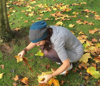 Crochet Beanie Hat in Autumn