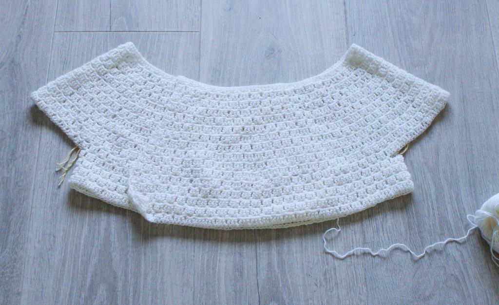 How To Design A Round Yoke Crochet Sweater Dora Does