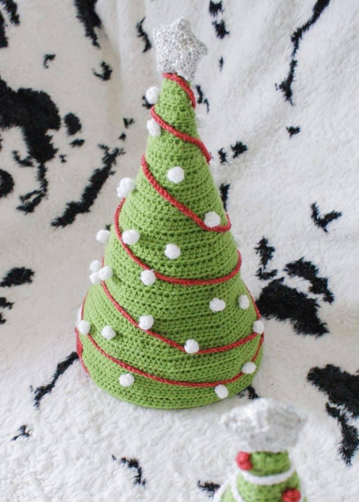 Dora S Christmas Tree Hat Free Crochet Pattern Dora Does