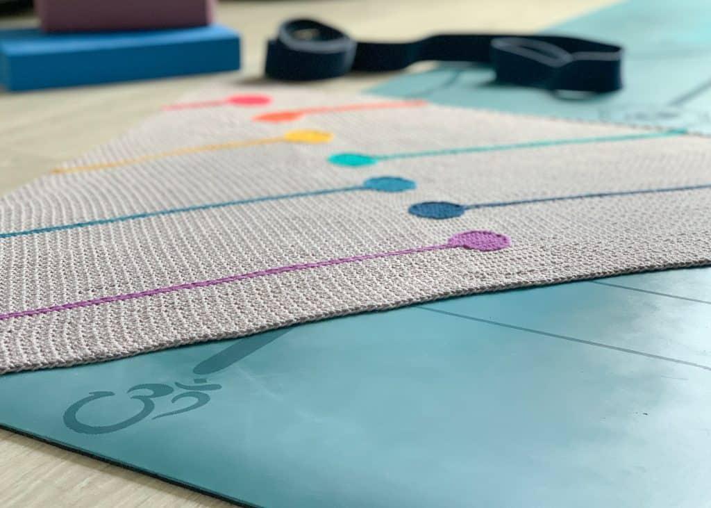 Chakra Shawl Free Crochet Pattern Dora Does